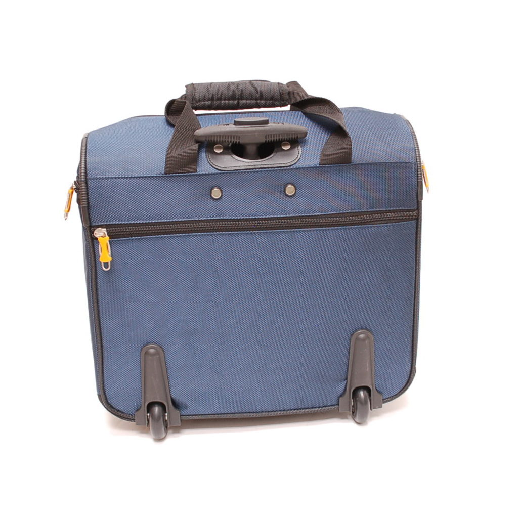 Lucas Wheeled Under The Seat Cabin Bag Blue