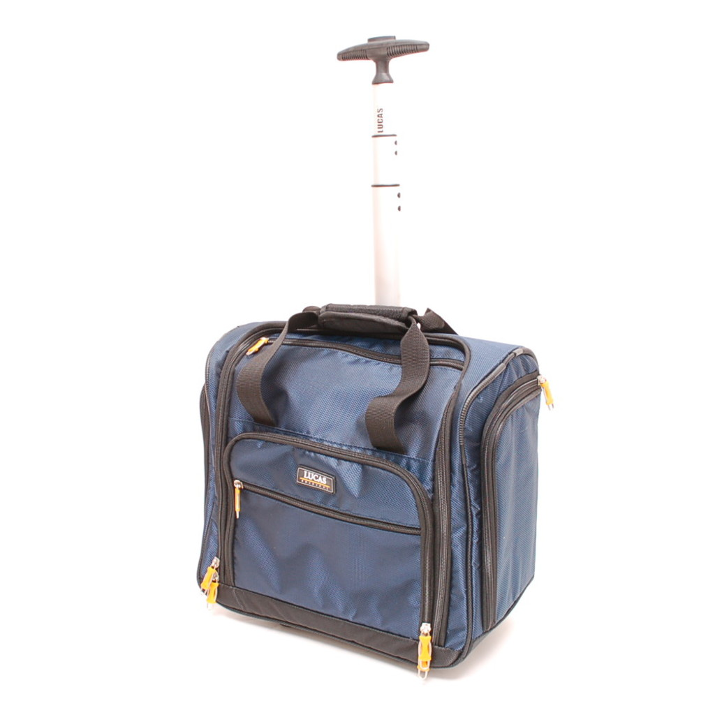 Lucas Wheeled Under The Seat Cabin Bag Blue Size Small