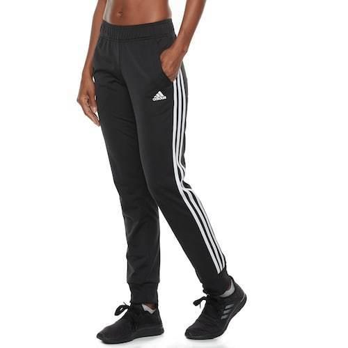 0f4a3865305057 Adidas Women's Designed 2 Move Striped Jogger Pants - Black - Size:L ...