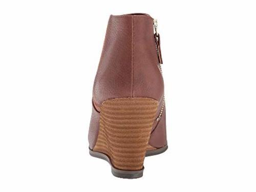 d680bc592bc Dr. Scholl s Patch Women s Wedge Ankle Boots - Copper - Size 9 - BLINQ