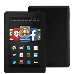 "Amazon Kindle Fire HD 7"" Tablet 8GB Wi-Fi Fire OS - Black (SQ46CW)"