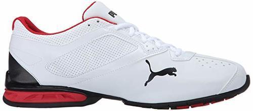 c52f6d697e6 ... Puma Men s Tazon 6 FM Lace-up Running Shoes - Black White - Size ...