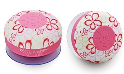 Aduro AQUA-Sound Shower Speaker - Flower/Pink (AS-WSP20-FLW)