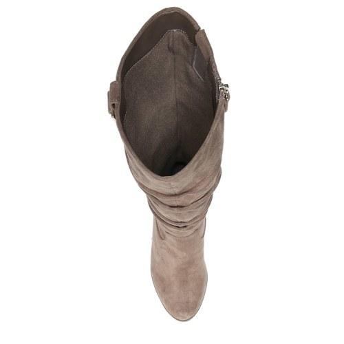 4ed32b1ec31d Dr. Scholl s Women s Poe Wedge Boots - Wheat-Stucco - Size 7 - BLINQ