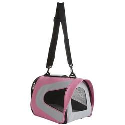 Pet Life Folding Zippered Sporty Mesh Carrier