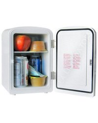 Mini Office Fridge Cooler/Warmer - White