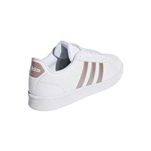 d5a697e3a86 ... Adidas Womens Cloudfoam Advantage Sport Shoes - White Rosegold - Size  7.5 ...