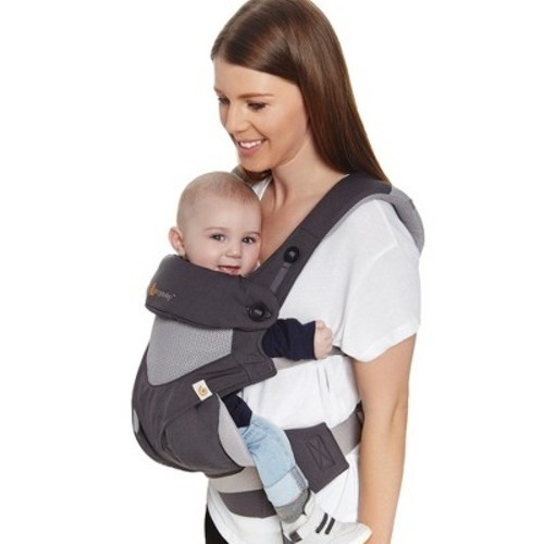 ba5682e34a7 Ergobaby Four Position 360 Cool Air Mesh Baby Carrier - Carbon Grey ...
