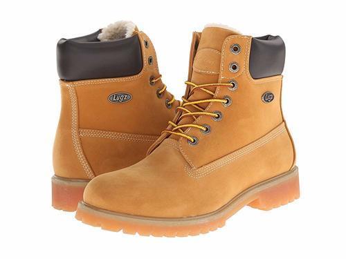 13ce749ed9b Lugz Men's Convoy Fleece Water Resistant Boot - Wheat/Brown - Size: 11.5