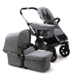 Bugaboo Baby Donkey2 Classic Stroller - Grey