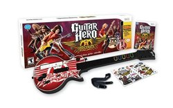 Guitar Hero Aerosmith Game + Guitar Bundle - Nintendo Wii