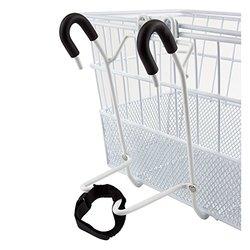 Sunlite Mesh Bottom Lift-Off Bicycle Basket - White