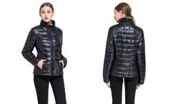 Women's Goose Down Lightweight Puffer Jacket -
