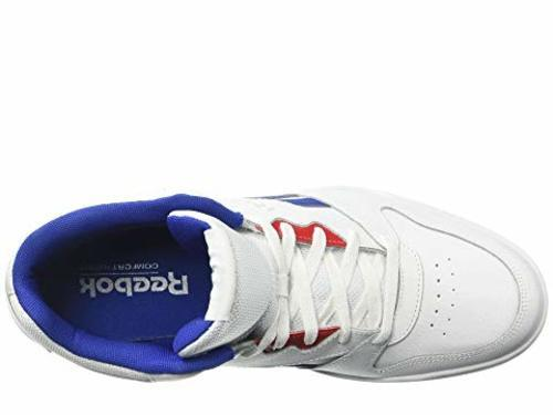0259a7a465f5 Reebok Men s Royal BB4500 HI2 Shoes - White Blue Red - Size 9.5 ...
