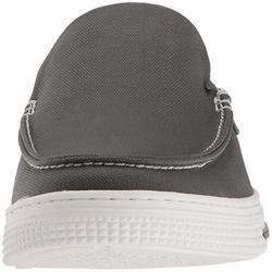 d42b860e4750 Kenneth Cole Reaction Men's Ankir Slip-On Boat Shoes - Dark Grey - Size:10