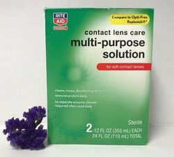 Rite Aid Contact Lens Care Multi-Purpose Solution - 2-Pack - 24fl.oz