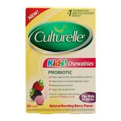 Culturelle Kids Chewables Natural Bursting Flavor ct berry - 30