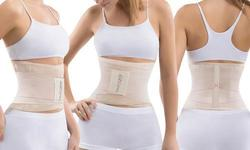 Womens Waist Belt and Slimming Gel -