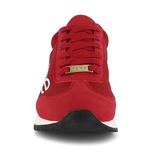 2e892c4ac7e Bebe Women s Brodie Logo Platform Sneakers - Red - Size  7.5 - BLINQ