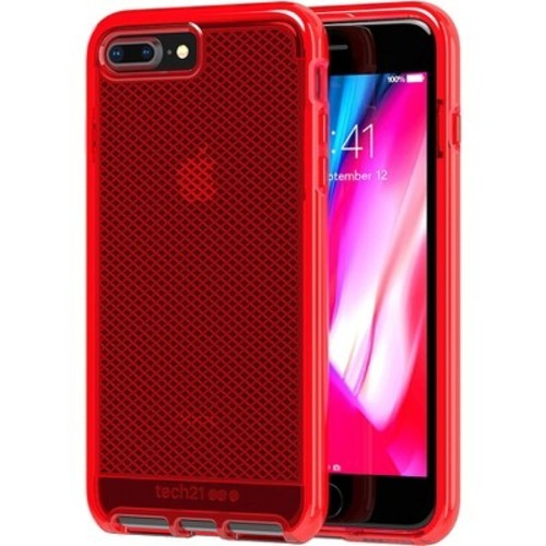 tech21 evo check case for apple iphone 8 plus 7 plus rouge check back soon blinq