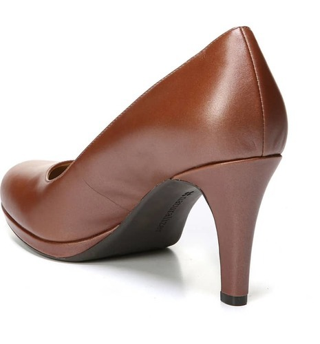 7cc319dcd13 Naturalizer Women's Michelle Almond Toe Dress Pump - Caramel - Size ...