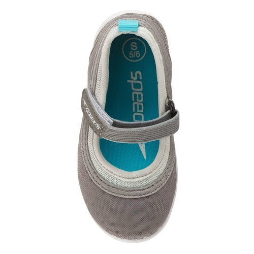 84b2ebabf46e Speedo Toddler Girls  Mary Jane Water Shoes - Gray - Size L - BLINQ