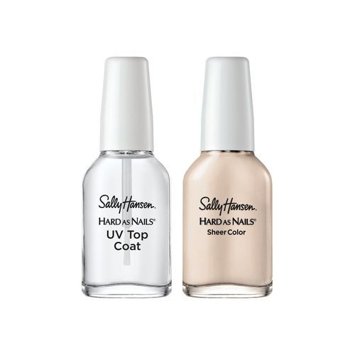 Sally Hansen Women\'s Hard As Nails French Manicure Kit - 3 Pack