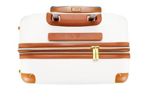 6cd65d0b7 ... 19V69 Italia Vintage Expandable Hard Spinner Luggage Set 3 Piece -  White ...