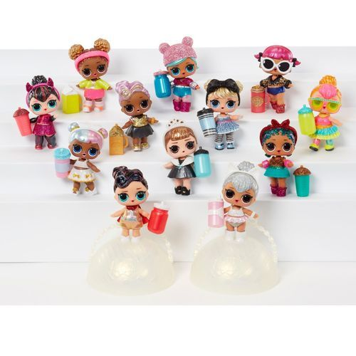 L.O.L. Surprise! Glam Glitter Mini-dolls Playset