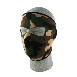ZANheadgear Neoprene Face Mask (Woodland Camouflage)