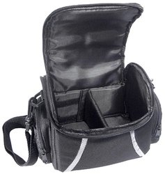 Zeikos Deluxe Soft Medium Camera and Video Bag - Black (ZE-CA48B)