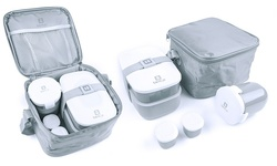 Bentgo Lunch Box Set: Gray