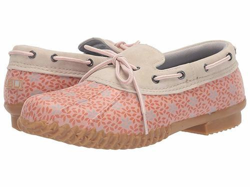 0bded2596 Jambu Women's Gwen Garden Slip-On Duck Shoes - Blush Floral - Size ...