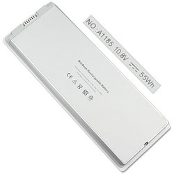 """55WH battery for Apple MacBook 13"""" A1185 MA561FE/A MA561LL/A"""