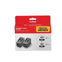 Canon PG-40 Inkjet Cartridge 2/Pack black
