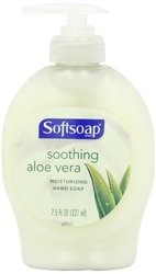Softsoap Liquid Hand Soap, Moisturizing with Aloe, 7.50-Ounce