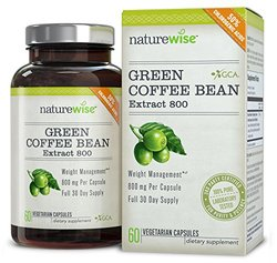 NatureWise Green Coffee Bean Extract 800 - 60 Capsules