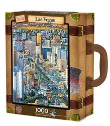 MasterPieces / Collector Suitcase 1000-piece Puzzle, Las Vegas