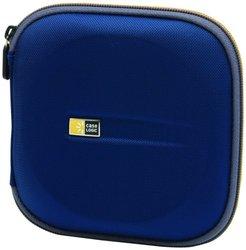 Case Logic EVA Molded 24 CD/DVD Case Blue EVW-24