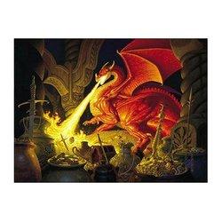 SunsOut - Greg Hildebrandt - Smaug Dragon - Jigsaw Puzzle - Pc 1000