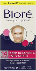 2 Pack Biore Deep Cleansing Pore Strips