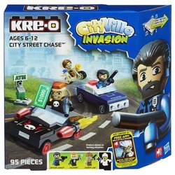 KRE-O CityVille Invasion City Street Chase Set (A4913)