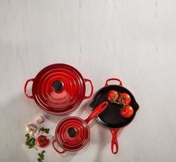 Deals on Le Creuset Signature Iron Handle Skillet Open Box