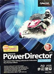 CyberLink PowerDirect 12 Ultimate Suite - 3pc