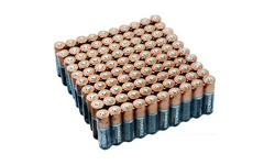 Duracell Copper Top Duralock Batteries 100-Pack AA