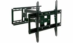 """K2 Full Motion Arm Wall Mount for 32"""" to 60"""" HDTV - Black (FM77M18)"""