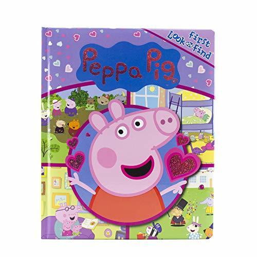 Peppa Pig My First Look and Find Activity Book - PI Kids - Great Gift Idea