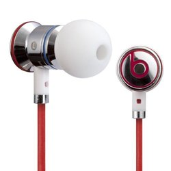 Beats by Dre iBeats In-Ear Headphones with Mic - Chrome
