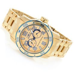 Invicta 48mm Scuba Voyager Limited Edition Bracelet Watch - Goldtone