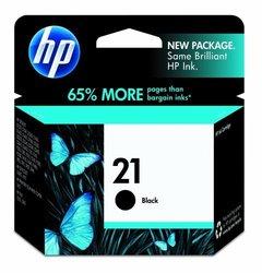 HP C9351AN 21 Black Inkjet Cartridge 190-page Yield